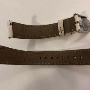 Michele Accessories - Michele Leather Watch Strap, 16mm